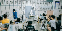 高二开始学画画,应届考上国美,倪佳彤给学弟学妹的好建议,就是选择绘状元!